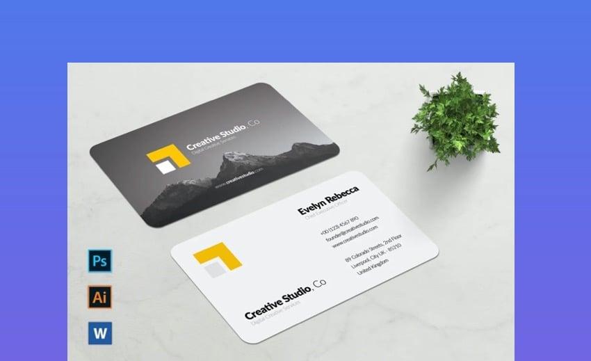 Minimalist Business Card Vol. 1