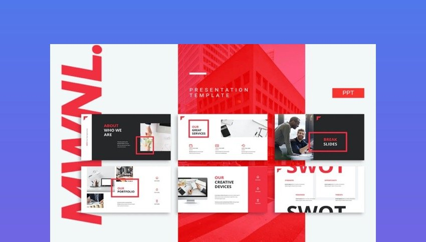 MWNL PowerPoint Template