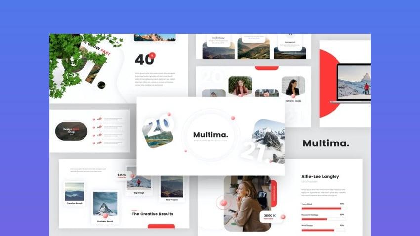 Minimal multipurpose template