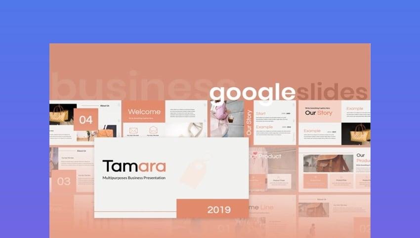 Tamara Google Slides Template
