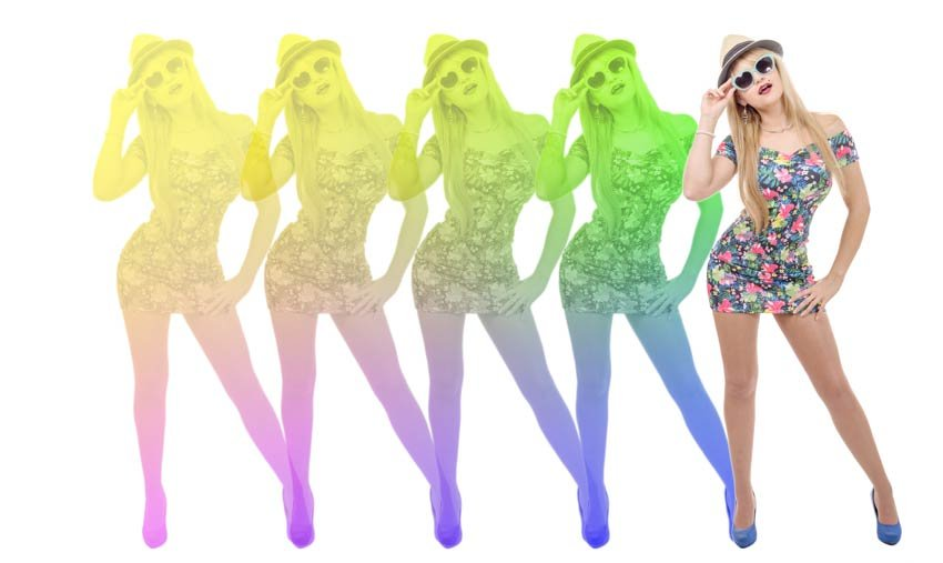 Lush Life music video inspired effect