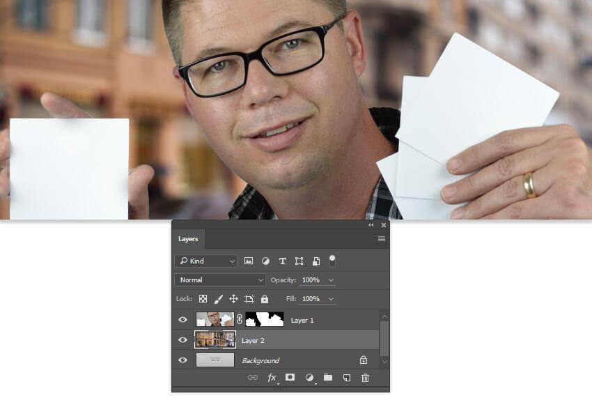 Add in a custom background image