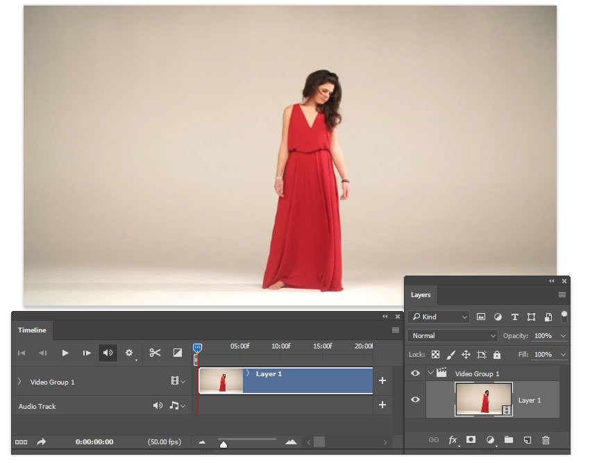 Open teh video in Photoshop