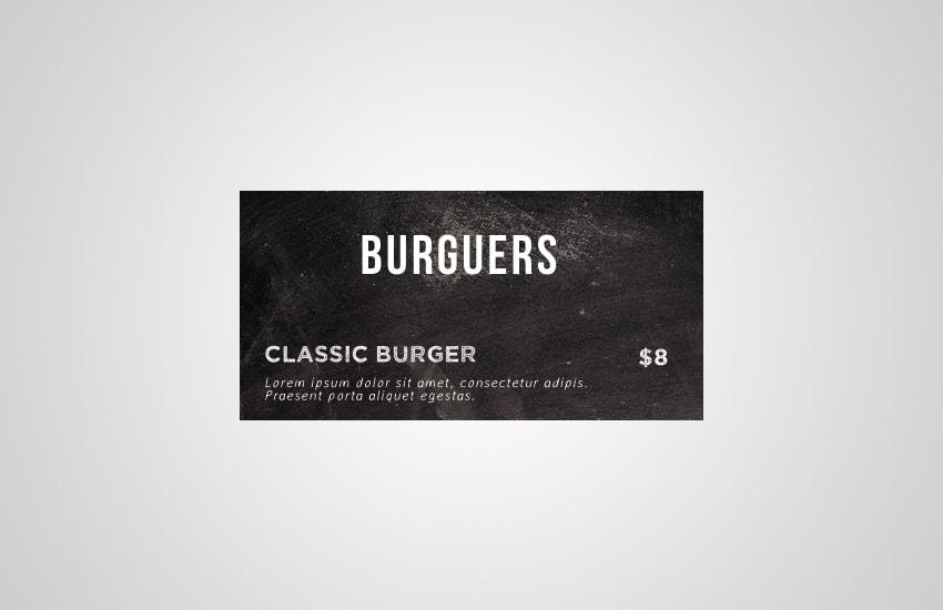 burguers layer
