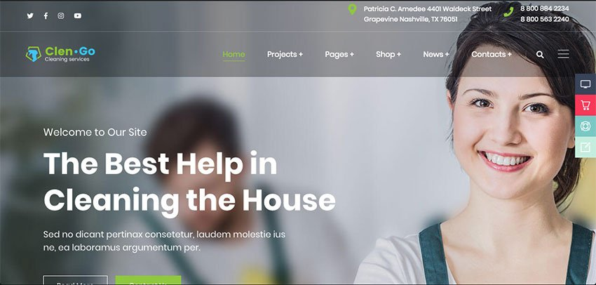 Clengo - Cleaning Website Theme