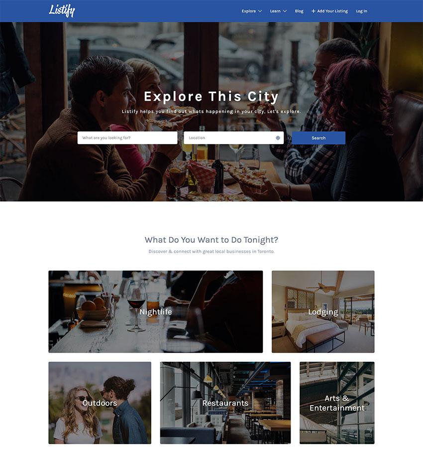 Listify - Directory WordPress Theme