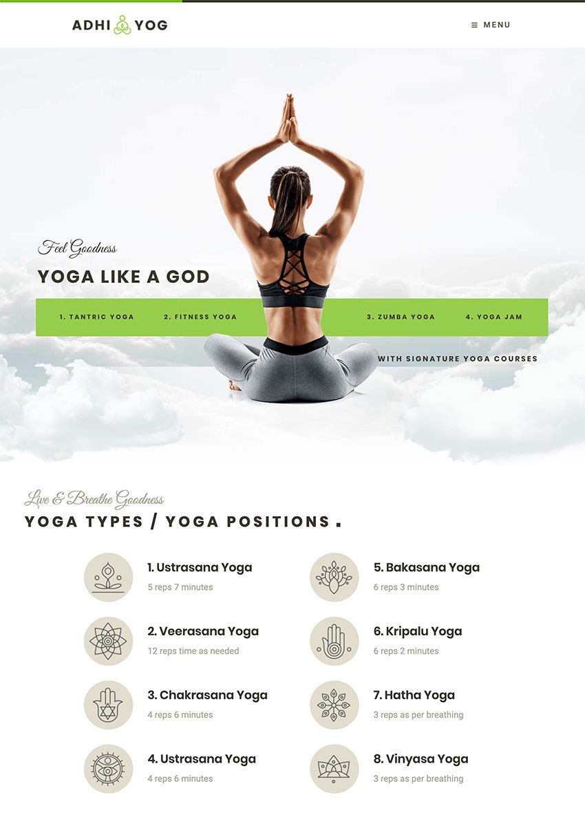 Adhi Yoga  Lifestyle  Wellness