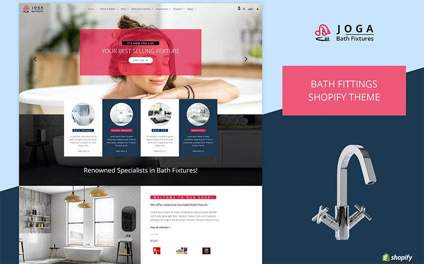 Joga  Bath Fittings Shopify Theme