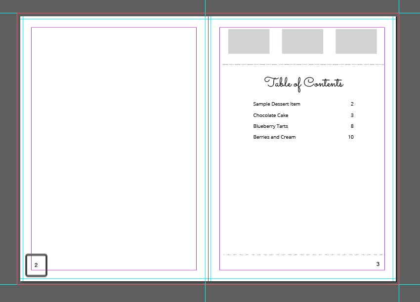 Page Numbers InDesign