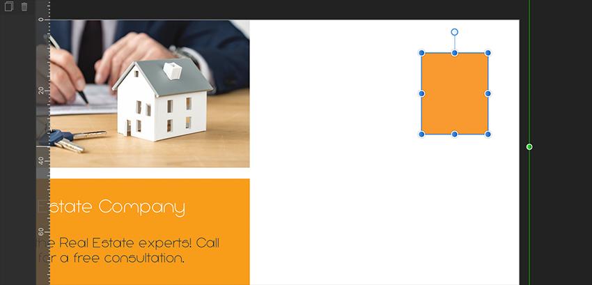Affinity Publisher Real Estate Postcard Stamp