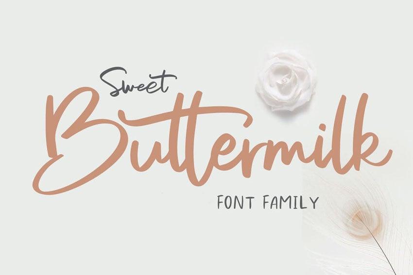 Sweet Font Branding Font Calligraphy Font Font for Cricut Logo Font Cute Handwritten Font Wedding Font