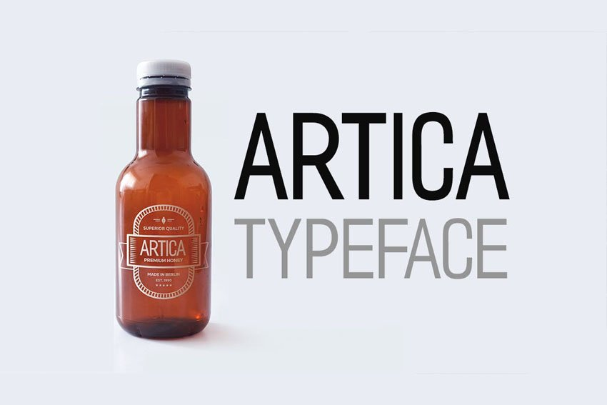 Artica Envato Elements Font
