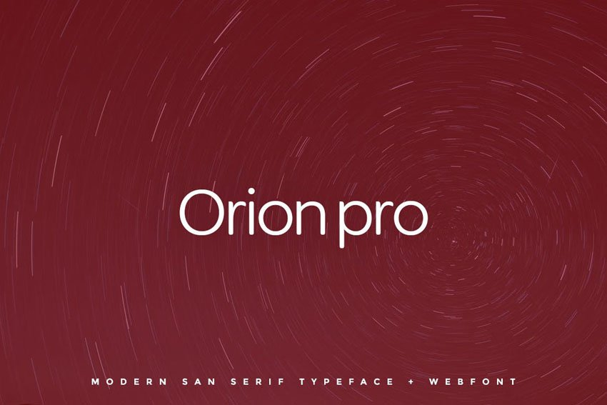 Orion pro Envato Elements Web Font