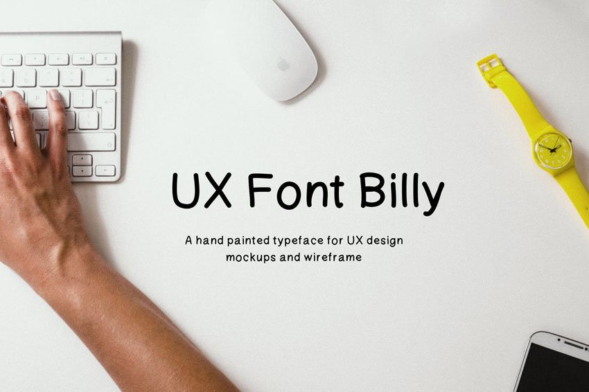 Billy UX Envato Elements Font