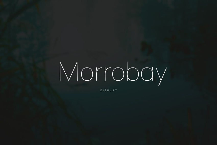 Morrobay Envato Elements Font
