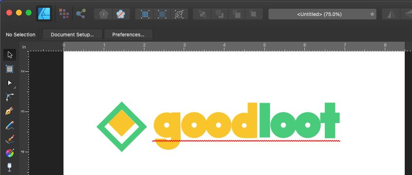 Affinity Designer Logo Finished