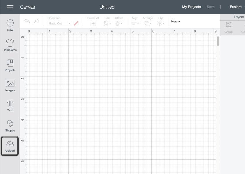 Cricut Design Space SVG Upload