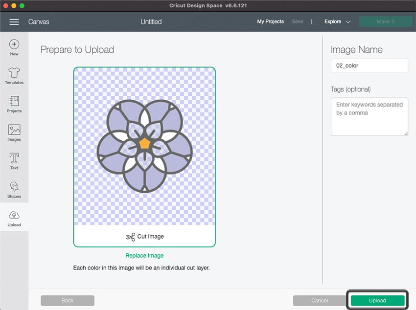 Cricut Illustrator SVG Import Cut and Upload