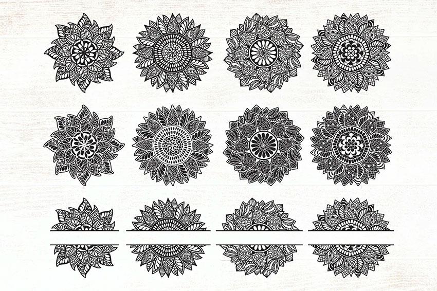 Envato Elements Mandala SVG