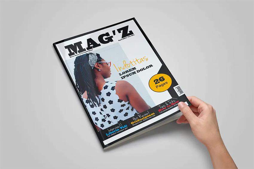 Envato Elements InDesign Template Magazine