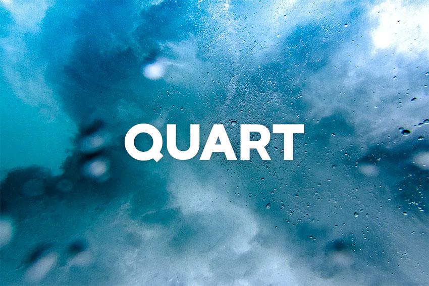 Quart Bold Text Font