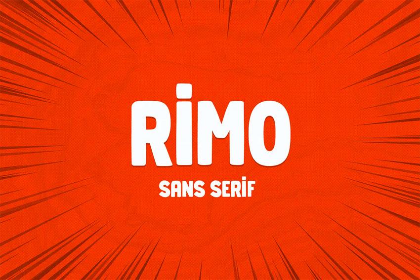Rimo Fun Bold Fonts