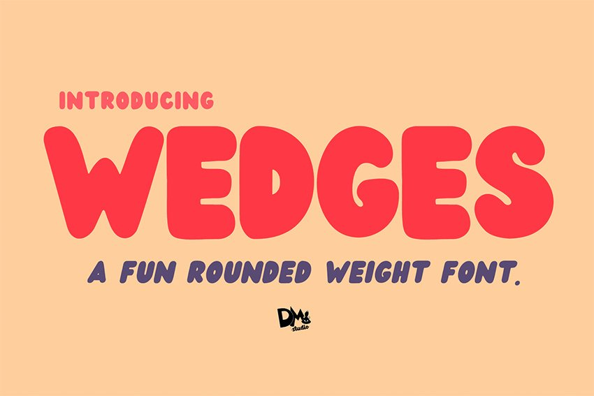 Bold Rounded Fonts