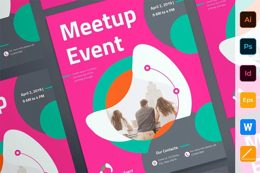 Envato Elements InDesign Poster Template