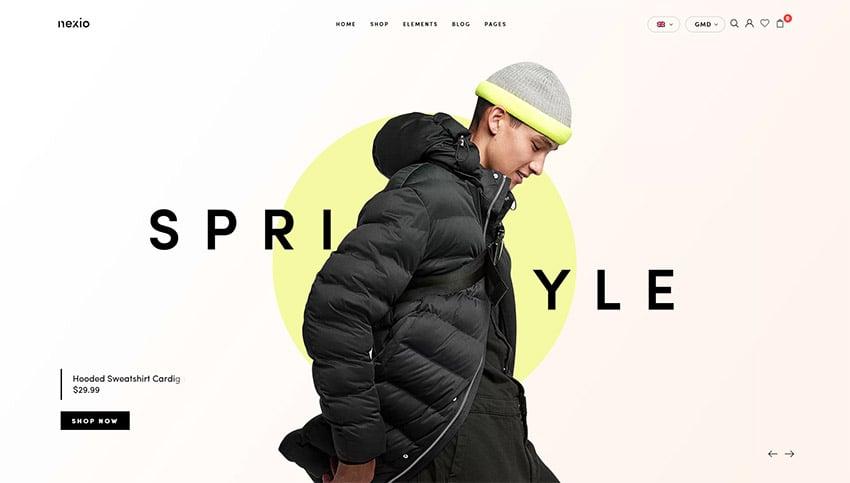 Nexio - Fashion WooCommerce Theme