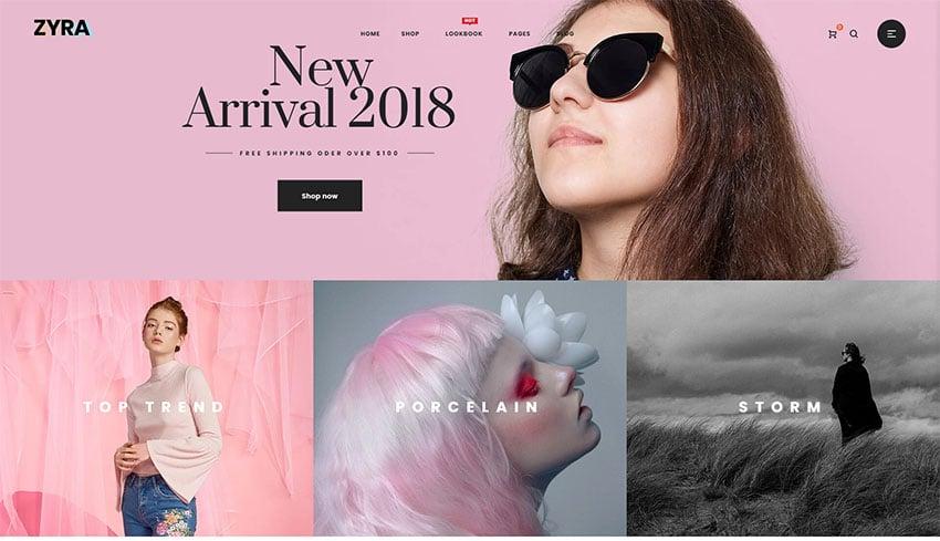 Zyra - The Clean Minimal Shopify Theme