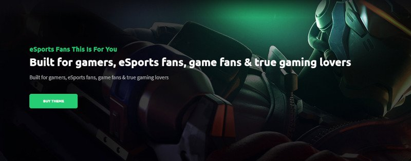 PixieHuge  eSports Gaming Theme For Clans  Organizations