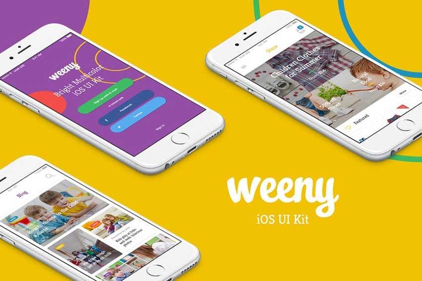 Weeny iOS UI Kit