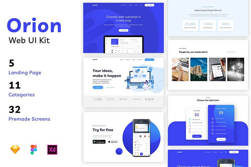 Orion - Web UI Kit