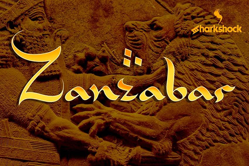 Zanzabar: Classic Arabic Style Font