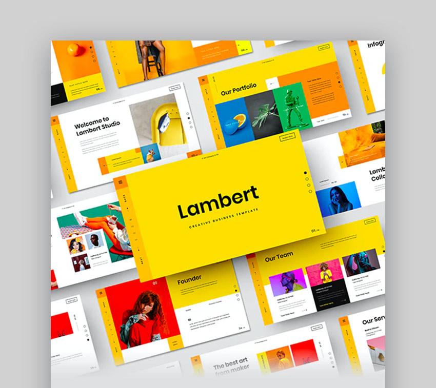 Lambert – Creative Business Google Slides Template