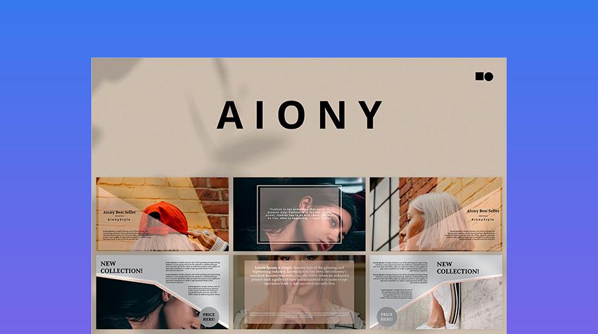 Aiony - Apple Presentation Template