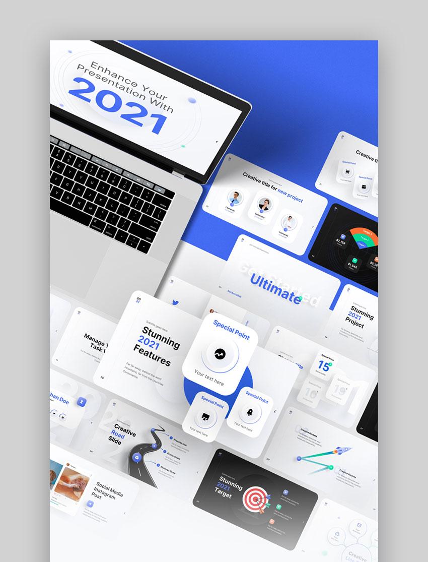 2021 Ultimate Multipurpose Keynote Presentation Template