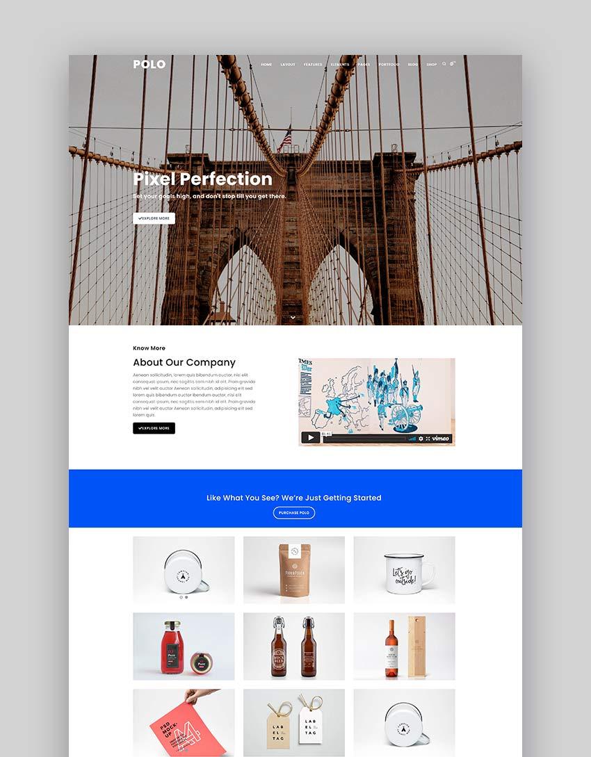 Polo - Responsive Multipurpose HTML5 Template