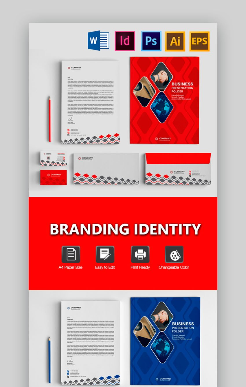 Attractive Corporate Identity Package