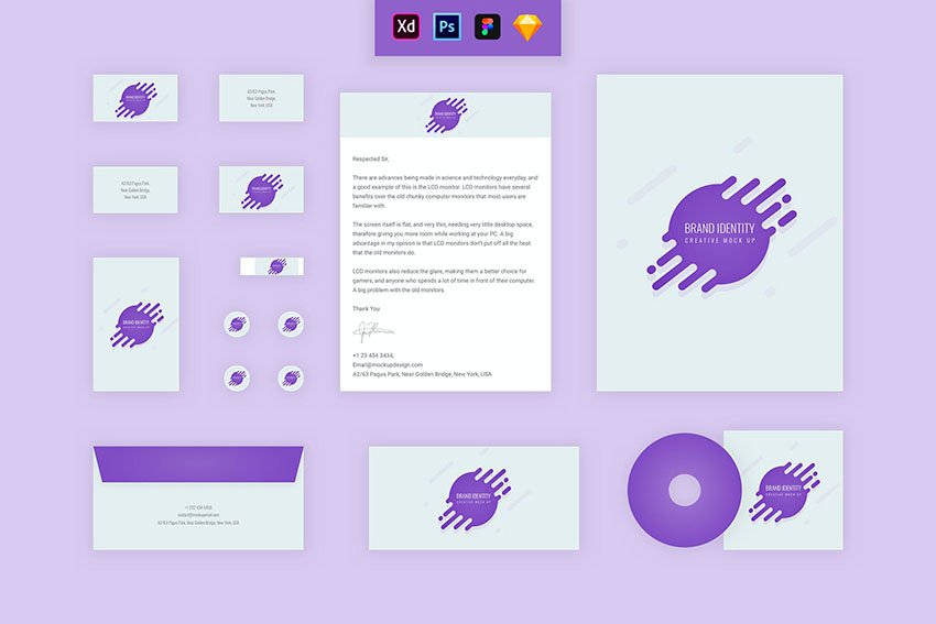 Make sure to test your branding package template. Tweak your corporate identity package until it's just right.