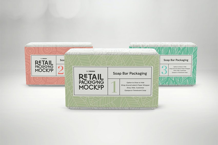 Pattern Soap Label Templates From Envato Elements.