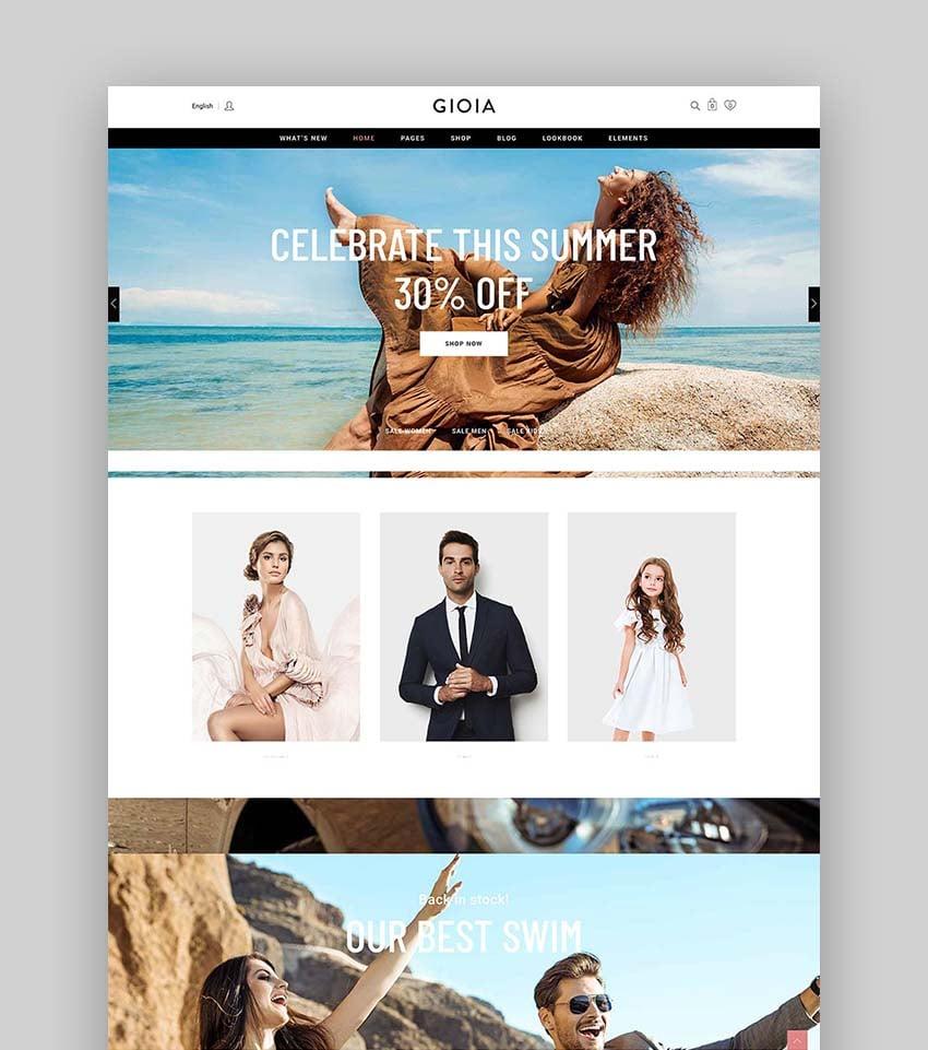 Gioia - Modern Fashion Shop