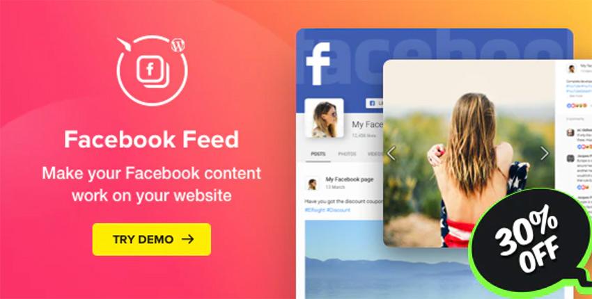 Facebook Feed – WordPress Facebook Plugin