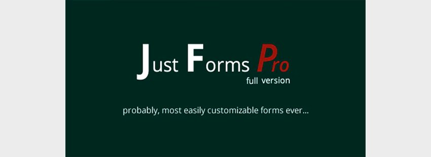 Just PHP Forms Pro Full
