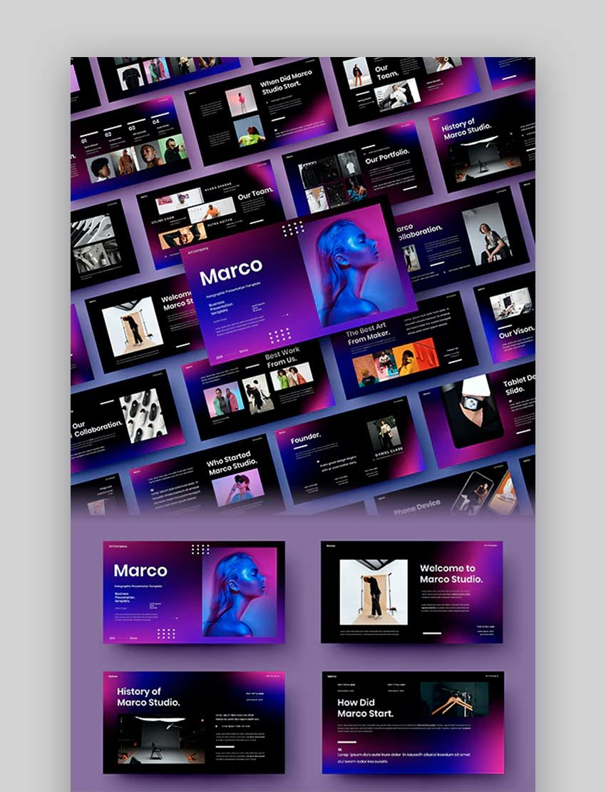Marco – Business PowerPoint Template