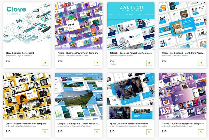 These amazing PowerPoint presentations from GraphicRiver are the newest of 2021.