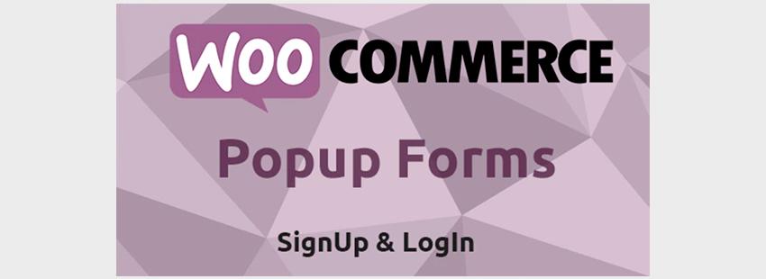 WooCommerce Popup Login Form WordPress