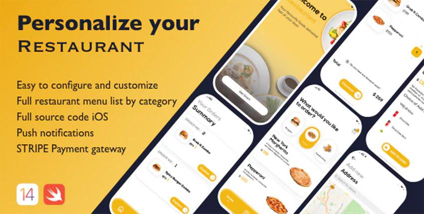 Restaurant App - Restaurant iPhone app template