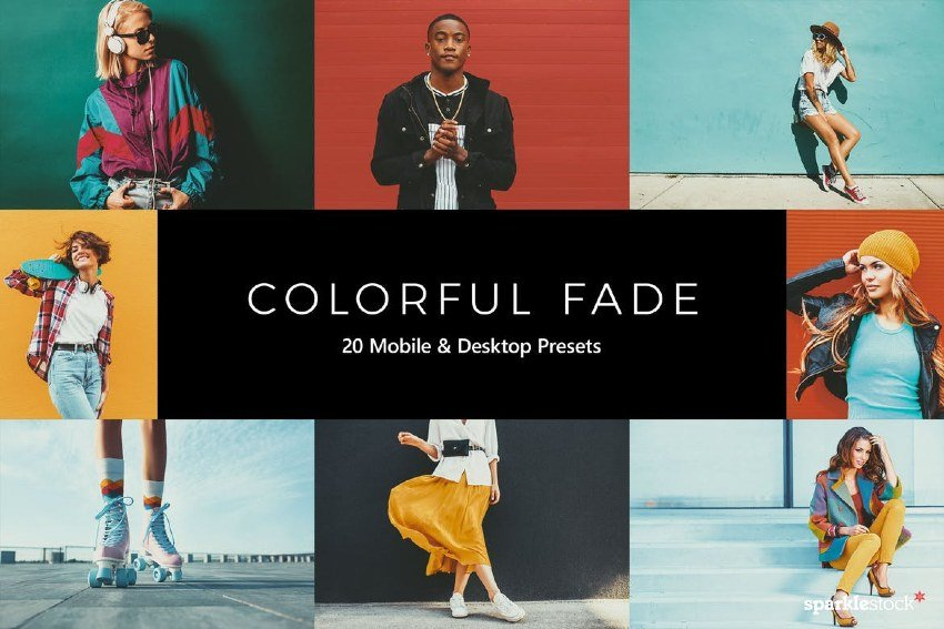 20 Colorful Fade Lightroom Presets