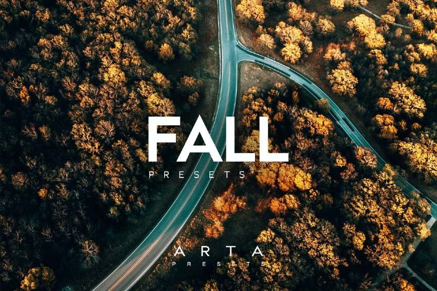 Fall Colors Lightroom Presets